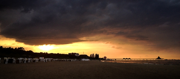 Lichtblick nach einem Tage voller Wolken - Foto @ claudia pautz 2012