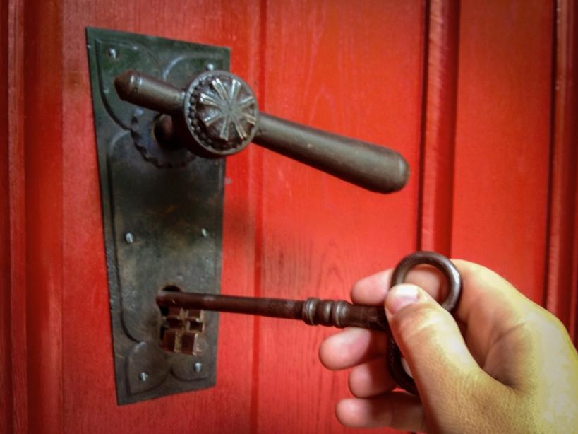 Was für ein riesiger Schlüssel - Foto © claudia pautz 2012