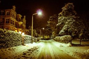 Winterliches Kaiserbad bei Nacht © claudia pautz