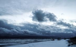 Winterliches Wolkenkino © claudia pautz 2013
