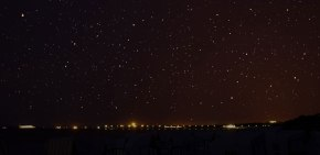 Sternennacht am Meer