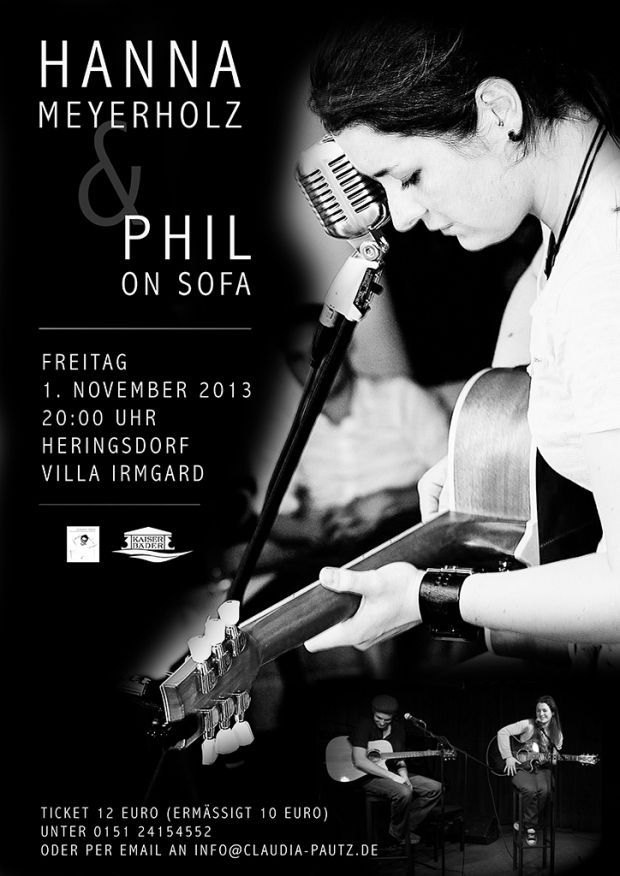 Hanna Meyerholz & Phil on Sofa - Live in Concert